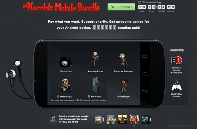 Latest Humble Bundle for Android is out