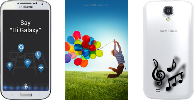 S Voice, wallpapers and ringtones ripped from Samsung Galaxy S4