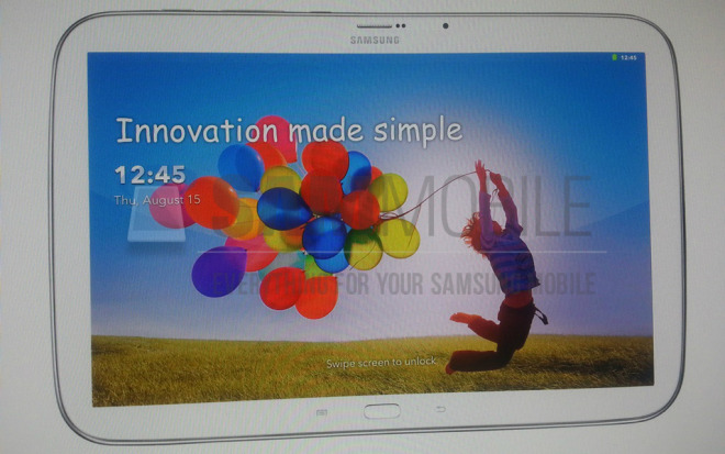 Alleged Samsung Galaxy Tab 3 Plus images and specs leak, might be