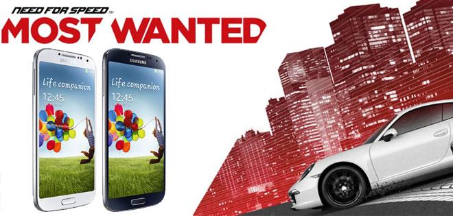 دارندگان Galaxy S4 در اروپا،Most Wanted و چند app رایگان دریافت می کنند