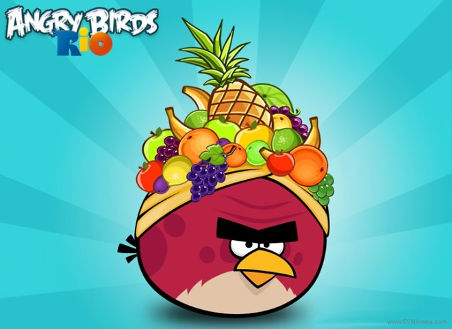 Angry Birds Rio Hits The Windows Phone Store