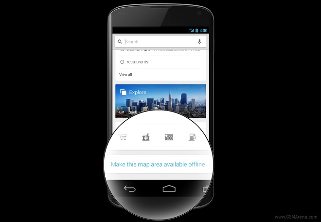 google drive how to make available offline