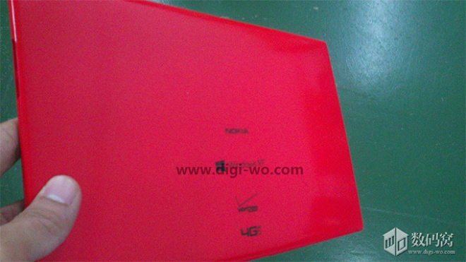 Nokia Windows RT tablet spotted with Verizon branding, said to launch in September