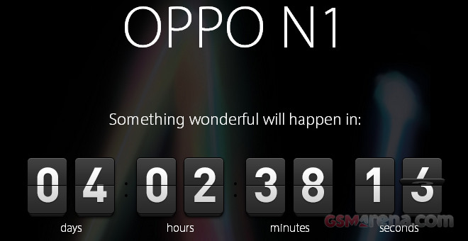 Oppo Releases Coundrown Teaser Of N1 Something Wonderful  ing Up In 4 Days on examples of china
