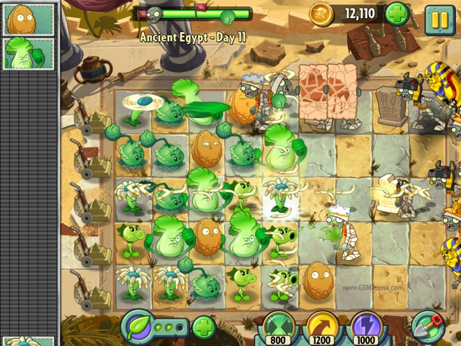 Plants vs. Zombies' for iOS game review
