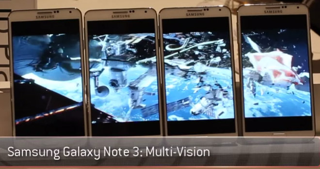 The Samsung Galaxy Note 3 Multi Vision is an awesome new feature you would probably never use