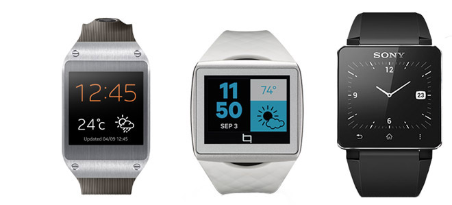 Samsung Galaxy Gear vs. Qualcomm Toq vs. Sony Smartwatch 2 ...