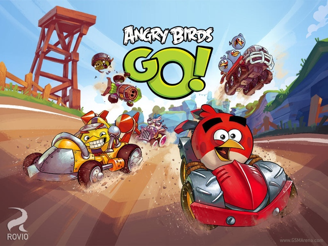 Angry Birds Go Kart Coloring Pages Released angry birds go!