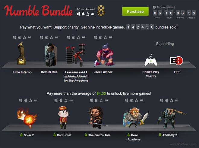 Humble Bundle 8 adds Bad Hotel, Solar 2, and The Bard's Tale
