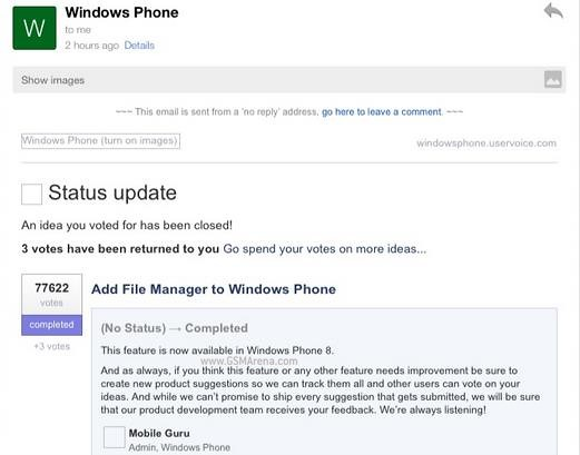 Upcoming Windows Phone Features Leaked
