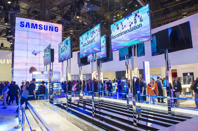Samsung Hints Its Booth At Ces 2014 Will Be Focused On