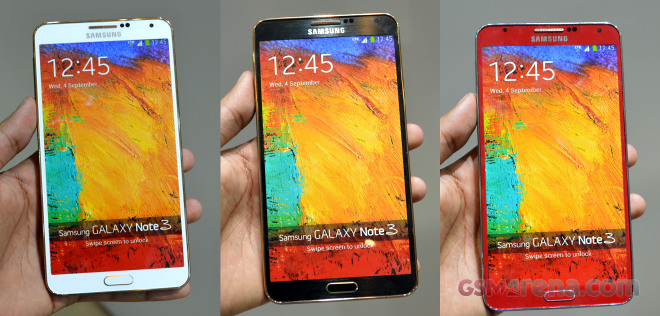 samsung galaxy note 3 rose gold white rose gold black and merlot