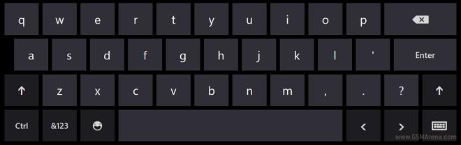 windows phone 80 swype keyboard