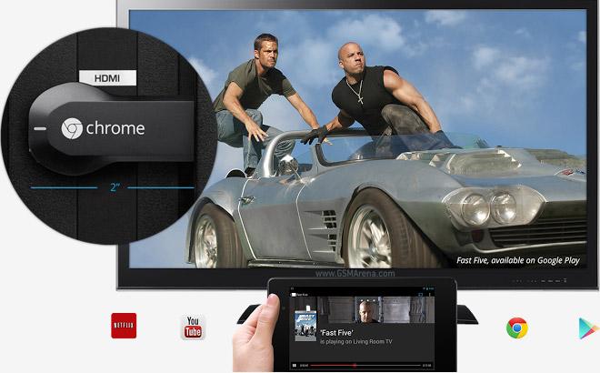 Google Chromecast HDMI Streaming Media Player I Jual Google Chromecast