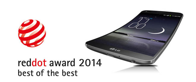 Lg grabs 33 red dot awards g flex pronounced best of the best for Top product design companies