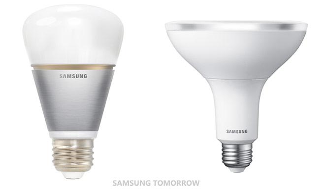samsung unveils led smart bulb that works over bluetooth. Black Bedroom Furniture Sets. Home Design Ideas