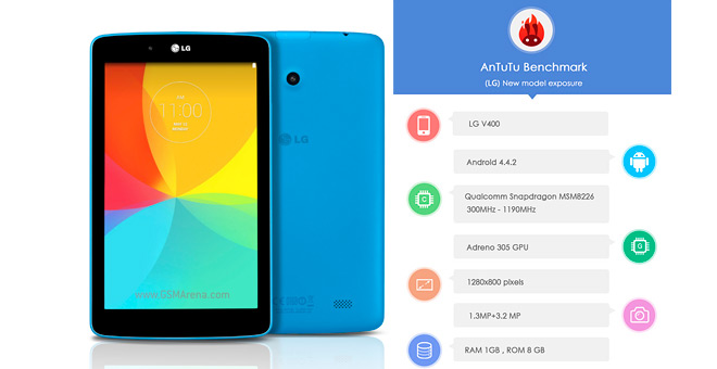 LG G Pad 7.0 specs uncovered through unofficial means