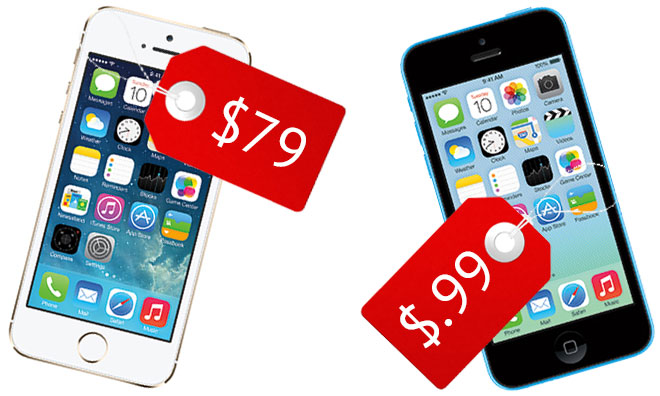 Walmart Slashes The 16GB IPhone 5s Price To 79 5c Now Starts At 099