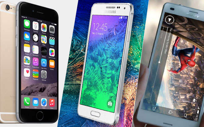 sony xperia z3 compact vs iphone 6 and flash are