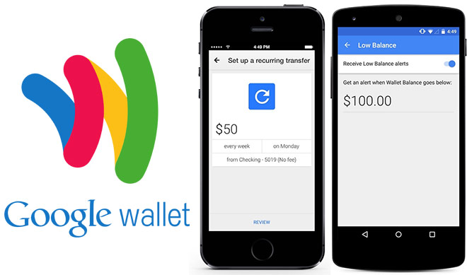 Google wallet has been updated with several nice features one of them