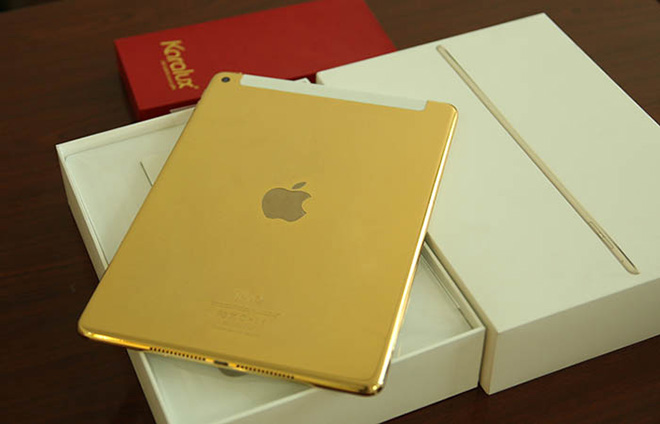 Apple iPad Air 2 in 24K gold looks exotic and goes for N231,000.00
