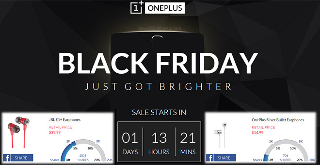 The More You Share The Oneplus Black Friday Deal On Accessories The Cheaper They Get