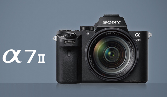 sony unveils a7 ii full frame mirrorless camera with in body is