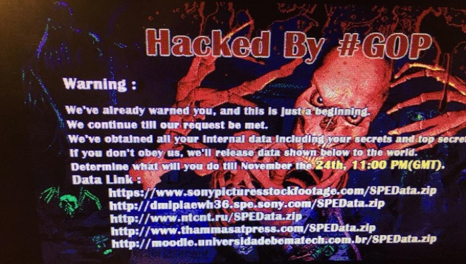 Sony Pictures Entertainment under hack attack