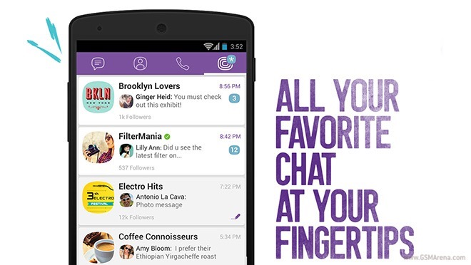 Viber Lovers: Viber launches Public Chats social channel