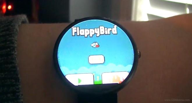 Flappy Bird di Smart Watch