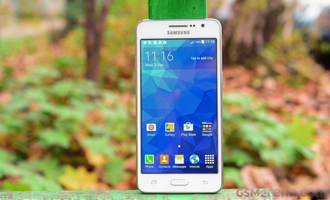 Samsung Galaxy Grand Prime hands=on