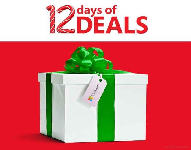 microsoft offers 12 days of holiday promotions