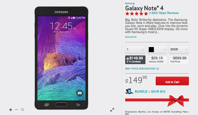 Verizon Now Gives You 50 Off On Android Phones Priced At 199 Or More