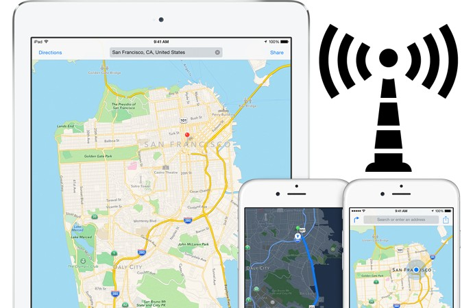 Imagine Your SatNav Software Avoiding Areas Of Poor Cellular Signal - Cellular signal strength map