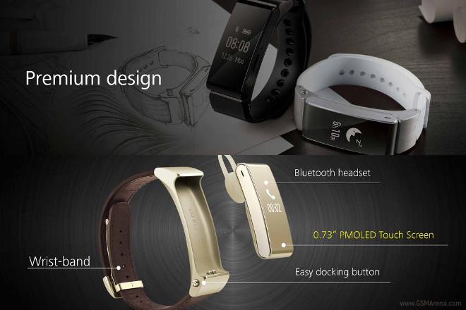 Huawei TalkBand B2 – гарнитура и спортивный браслет