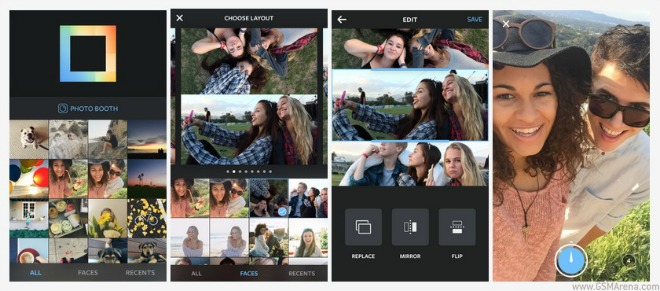 Layout from Instagram lets you create photo collages, only on iOS for now