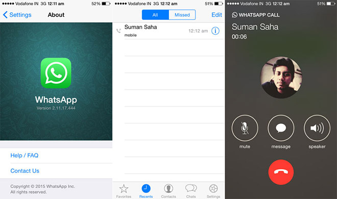 Download whatsapp call history iphone