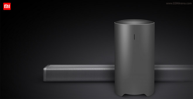xiaomi unveils 55 4k tv with soundbar and subwoofer