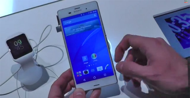 Xperia z3 Running Android