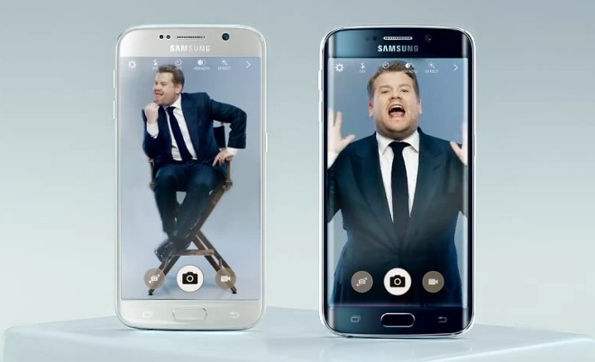 Samsung Galaxy S6′s latest ad pits comedian James Corden against hipster alter-ego