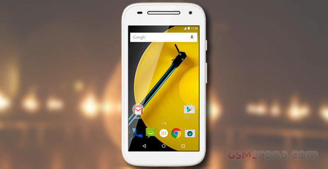 Motorola Moto E (2nd gen) battery life test