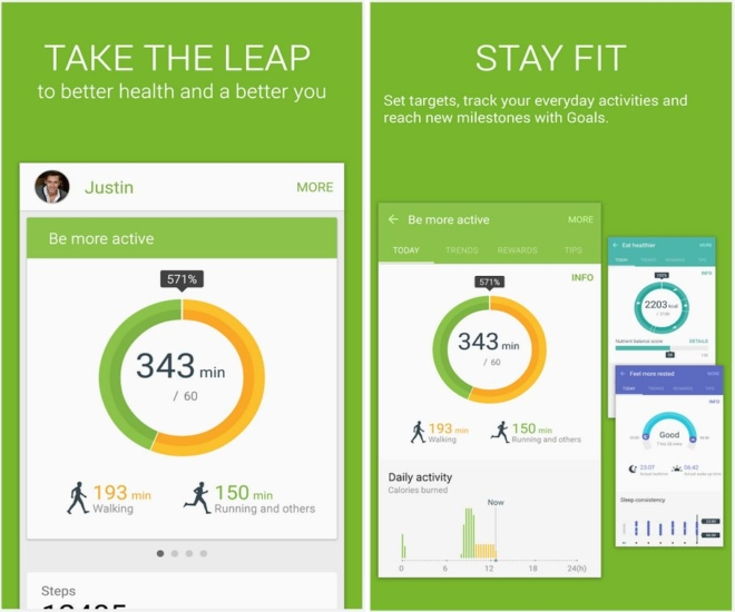 Samsung Has Launched Its Personal Health Management App S On Google Play A Move That Will Allow You Of The To Keep It Up Date Without
