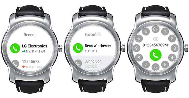 LG Call app lets you make call from Watch Urbane