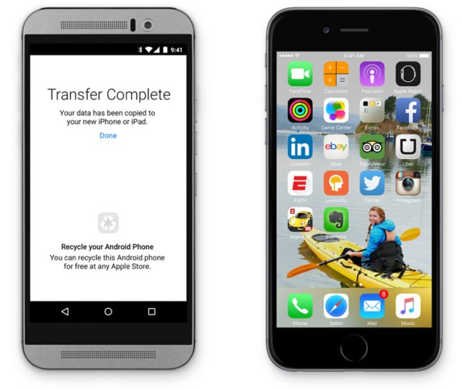 Apple's new 'Move to iOS' app is aimed at helping Android users switch to iOS