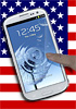 You can sign up for updates on US Galaxy S III (but not pre-order)