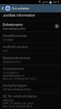 Samsung I9506 Galaxy S4 LTE-A now getting KitKat