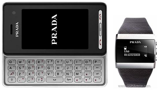 LG KF900 Prada and LG LBA T950 timepiece