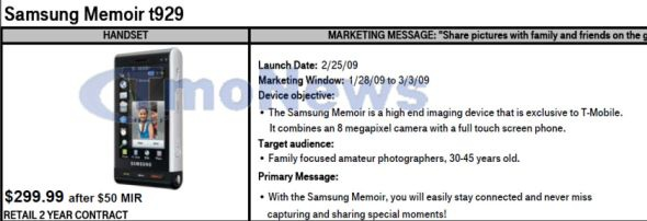 Samsung Memoir