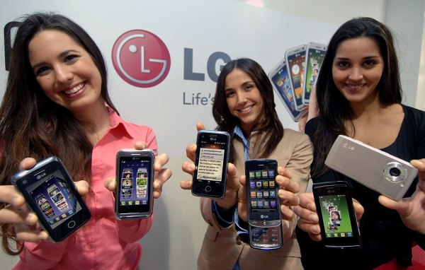 LG leaked phones