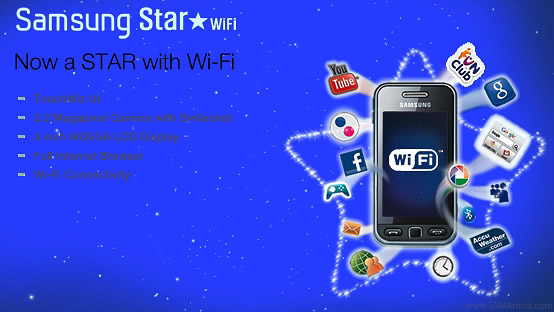 Samsung S5230W Star WiFi